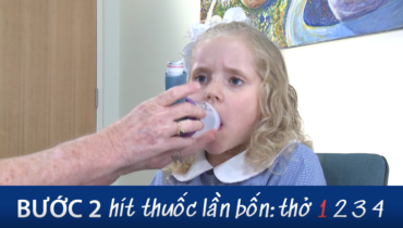 Screen Grab Aiming For Asthma Improvement Using A Small Volume Spacer With School Aged Children Vietnamese