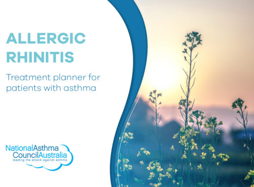 Allergic Rhinitis Pad For Health Professionals Cover Page