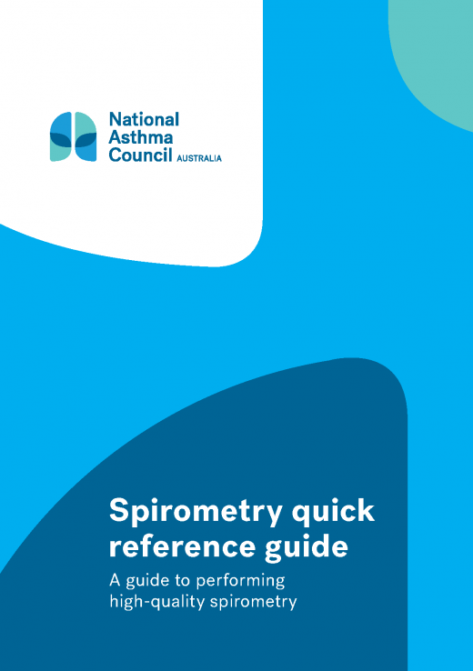 Nac Spirometry Quick Reference Guide Cover 2020